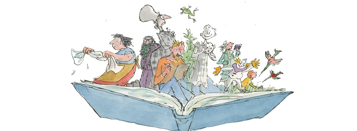 Quentin Blake: Inside Stories